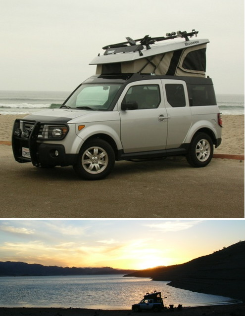 Honda Element Camperizzato