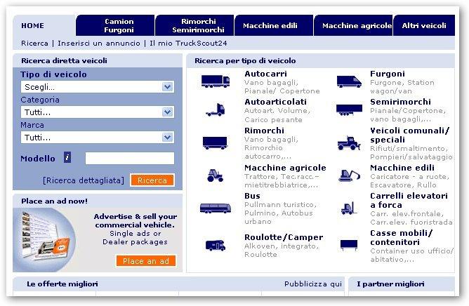 furgoni e camper online