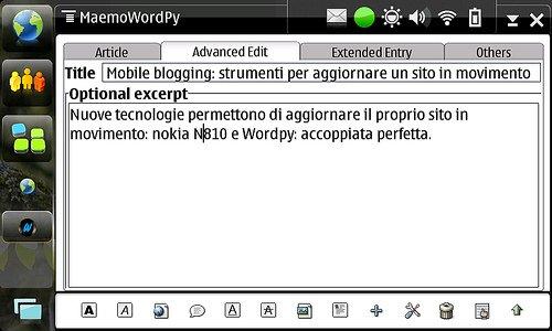 wordPy su nokia N810
