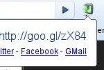 Goo.gl url Shortener estensione per Chrome e Chromium