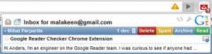 Google Mail Chacker Plus Futures