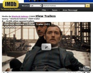 IMdb plus- L'estensione per chrome e chromium per visualizzare i trailer su IMdb