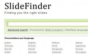 Trovare presentazioni in Power Point con Slide Finder