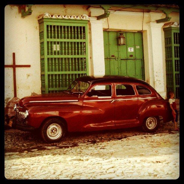 Classic Car in Trinidad, Cuba